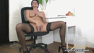 Incredible pornstar Celine Noiret in Exotic Lingerie, Masturbation porn movie