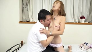 Mature Japanese tries nephew for a variety of make the rounds of coitus