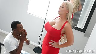 Alura Jenson teases her husband with pics be incumbent on her riding a BBC