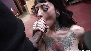 Unjust and fucked holy man hard tattooed bitch named Jessie Lee