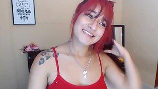 Redhead unpaid webcam show